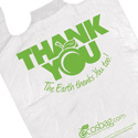 Earth Friendly 11.5 x 6.5 x 21 Thank You Bags