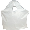 15 x 14 + 5 Super Wave Top Handle Plastic Bags