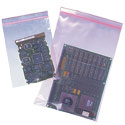 2.5 in x 3 in 4-Mil Minigrip Reclosable Pink AntiStatic Bag