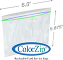 Sandwich Size Reclosable Food Storage Bags