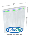1 Quart Reclosable Food Storage Bags