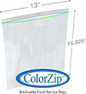 2 Gallon Reclosable Food Storage Bags