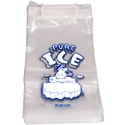 8 lb Plastic Wicket Ice Bags  inPURE ICE in