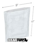 9 in x 12 in 1 Mil Poly Bags