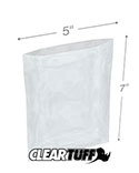 5 in x 7 in 1.25 Mil Poly Bags
