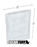 6 in x 8 in 1.25 Mil Poly Bags