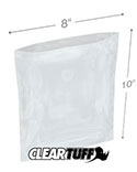 8 in x 10 in 1.25 Mil Poly Bags
