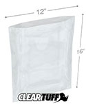 12 in x 16 in 1.25 Mil Poly Bags