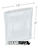 14 in x 18 in 1.25 Mil Poly Bags
