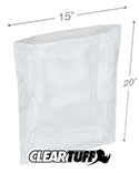 15 in x 20 in 1.25 Mil Poly Bags