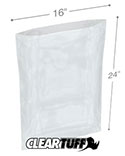 16 in x 24 in 1.25 Mil Poly Bags