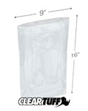 9 in x 16 in 2 Mil Poly Bags
