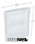 10 in x 13 in 2 Mil Poly Bags
