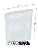 7 in x 9 in 3 Mil Poly Bags