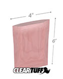 4 in x 6 in 2 Mil Anti-static Poly Bags