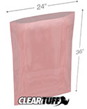 24 in x 36 in 2 Mil Anti-static Poly Bags