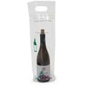 7 in x 17 in + 3 in Design Wine Bottle Bags 2.5 Mil