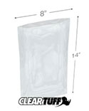 8 in x 14 in 1.5 Mil Poly Bags