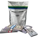 Plastic Deposit Bags with Pouch 9 x 12 Secur-Pak
