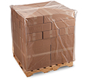51 inx44 inx92 in 2Mil Gusseted Clear Pallet Cover