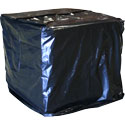 51 in x 49 in x 97 in 2 Mil Black Pallet Cover