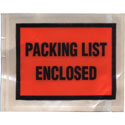4 1/2 x 5 1/2 Packing List Enclosed Full Face