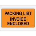 7 x 10 Packing List Invoice Enclosed Envelopes
