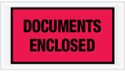 5.5X10 Documents Enclosed Side Load Packing List
