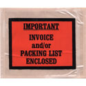 4 1/2 x 5 1/2  Important Invoice & Packing List