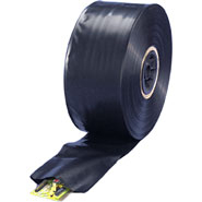 16 in 6 Mil black poly tubing