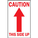 3 in x 5 in Caution This Side Up Warning Label