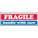 inFRAGILE - handle with care in 1x3 - Red White and Blue