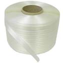 8 x 8 core 5mm x 23000' Clear Polypropylene Strapping 0.016 ga