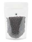 8 oz Stand Up Pouch with valve Clear PET/LLDPE
