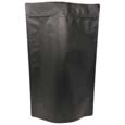 5 lb Stand Up Pouch Matte Black MBOPP/PET/ALU/LLDPE