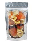 2 oz Stand Up Pouch Clear/Gold PET/ALU/LLDPE