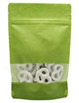 4 oz Rice Paper Stand Up Pouch Lime RICE PAPER/PET/LLDPE