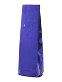 2 oz Side Gusset Bags with valve Blue PET / ALU / LLDPE