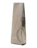 16 oz Side Gusset Bags  Champagne PET / ALU / LLDPE