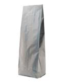 16 oz Side Gusset Bags  Silver PET / ALU / LLDPE