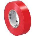 3/4 in x 20 yds Electrical Tape - Red