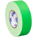 2 in x 50 yds Fl Green Gaffers Tape