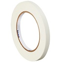 1/4 in x 60 yds 4.9 Mil White Masking Tape