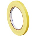1/4 in x 60 yds 4.9 Mil Yellow Masking Tape