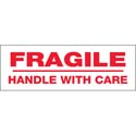2 in x 55 yds Pre-Printed Tape  inFragile Handle With Care in