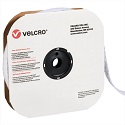 1 in x 75' White Velcro Tape Strips - Loop