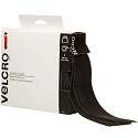 2 in x 15' Black Velcro Tape Combo - Strips