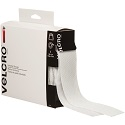 2 in x 15' White Velcro Tape Combo - Strips