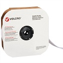 2 in x 75' White Velcro Tape Strips - Loop