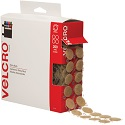 3/4 in Beige Velcro Tape Combo - Dots